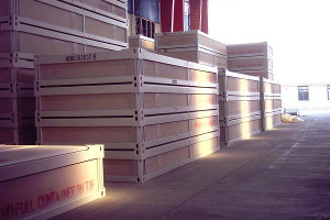 ECLIPS compressed Flat Packs can be nested four high