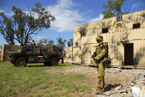 Reconfigurable Urban Operations Training Facility built for the Australian Army