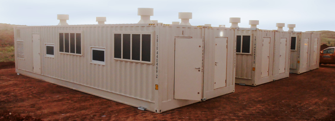 Sea Box International Transportable Emergency Cyclone Shelters