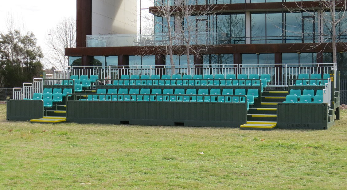 ECLIPS 40 ft portable grandstand (Tipo 5)