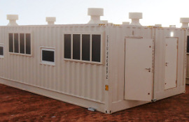 Transportable cyclone shelters