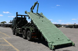 ISO 1C flatrack for the New Zealand Defence Force