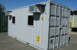 Accommodation module for the Royal Tongan Navy