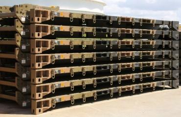 ISO 1C Flatracks and Cargo Gate Kits