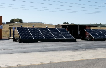 Container Roll-Out Solar System (CROSS) in the News