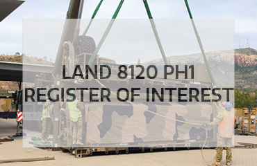 Register interest for LAND 8120 Ph1